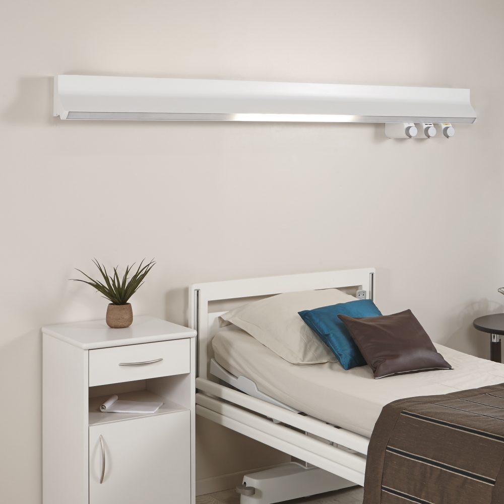 Horizontal bed head unit HI-BEAM - TLV
